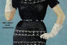 Vintage crochet 50s