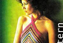 Vintage crochet 70s