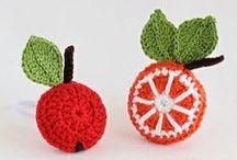 Szydełko - owoce