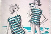 Vintage crochet 60s