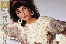Vintage crochet 80s