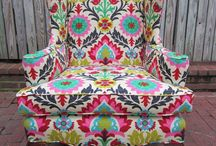 Armchair Heaven / Sitting comfortably? Good, now take a peek at these sumptuous   armchairs, chaise longues and upcycled DIY projects. They are perfect for creating a statement in any room with complimentary fabrics, when positioned in the perfect location. We have a fabulous selection of chairs on our store and some perfect how to style guides on our blog www.serendipityhomeinteriors.com