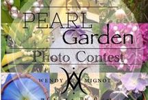 Pearl Garden Photo Contest / Take a photo of your pearls with anything in your garden to be entered to WIN  a Wendy Mignot Original! woobox.com/uq9ahr