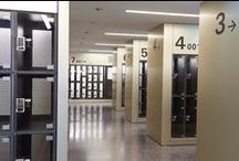 Installations / Installations featuring electronic locks and lockers by Digilock
