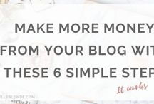 Affiliate Marketing Tips / Affiliate marking is one of the easiest ways to generate money from your blog and make money from home. We absolutely love affiliate marketing and have some seriously great resources over at ELLEfluence.com