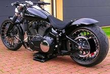 Harley-Davidson FXSB Black Custom