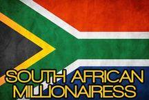 SOUTH AFRICAN MILLIONAIRESS / THE LIFESTYLE & FAVORITE THINGS OF A SOUTH AFRICAN MILLIONAIRESS.  (DIE LEEFSTYL EN GUNSTELING DINGE VAN 'N SUID-AFRIKAANSE MILJOENERS).