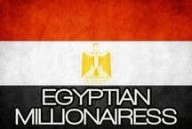 EGYPTIAN MILLIONAIRESS / THE LIFESTYLE & FAVORITE THINGS OF AN EGYPTIAN MILLIONAIRESS. / by MILLIONAIRESS®