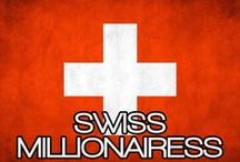 SWISS MILLIONAIRESS / THE LIFESTYLE AND FAVORITE THINGS OF A SWISS MILLIONAIRESS.