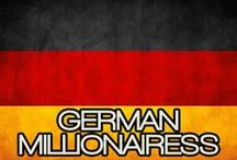 GERMAN MILLIONAIRESS / THE LIFESTYLE & FAVORITE THINGS OF A GERMAN MILLIONAIRESS.