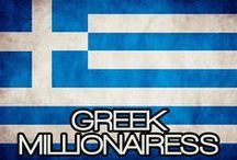 GREEK MILLIONAIRESS / THE LIFESTYLE & FAVORITE THINGS OF A GREEK MILLIONAIRESS. (O TROPOS ZOIS KAI TA AGAPIMENA PRAGMATA TOU ELLINIKOU MILLIONAIRESS).