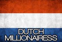 DUTCH MILLIONAIRESS / THE LIFESTYLE & FAVORITE THINGS OF A  DUTCH MILLIONAIRESS. (DE LIFESTYLE & FAVORIETE DINGEN VAN EEN NEDERLANDSE MILLIONAIRESS).
