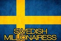 SWEDISH MILLIONAIRESS / THE LIFESTYLE & FAVORITE THINGS OF A SWEDISH MILLIONAIRESS.  (LIVSSTIL OCH FAVORIT SAKER I EN SVENSK MILLIONAIRESS).