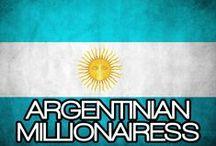 ARGENTINIAN MILLIONAIRESS / THE LIFESTYLE & FAVORITE THINGS OF AN ARGENTINIAN MILLIONAIRESS.(EL ESTILO DE VIDA Y LAS COSAS FAVORITAS DE UNA MILLONARIA ARGENTINO).
