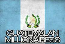 GUATEMALAN MILLIONIARESS / THE LIFESTYLE AND FAVORITE THINGS OF A GUATEMALAN MILLIONAIRESS.