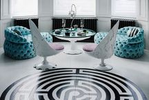 ALL TUFTED OUT / GLAMOROUS TUFTED INTERIORS.  / by MILLIONAIRESS®
