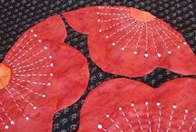Applique Hand sewn