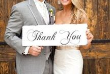 Wedding invitations & Thank you -cards / Ideas for invitations and thank you cards.
