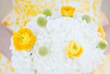 Yellow Freesia Wedding