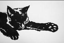 Animals by Nina Kramer / Artwork and photo's focused on animals.