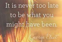 Quotes / Inspirational, humerus, relatable, etc.