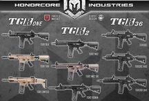 Armas Marcadoras Guns Magfed / Descripción de armamento, marcas y modelos de marcadoras Magfed.