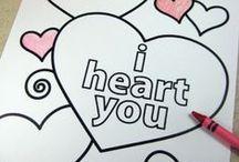 Valentine's Day Ideas / Find cute gift, DIY decoration and recipe ideas for Valentine's Day here!