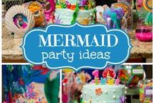 Under the Sea Party / From Little Mermaid to the fish that we love to watch swim