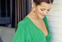 Verde esmeralda / Nos gusta el verde y mucho. El color de las esmeraldas y también de la esperanza, símbolo de la eterna juventud. Ya sabéis lo que dicen... ¡Piensa en verde!