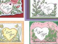 Love, Valentines, Coloring / Love cards for all occasions from Kim Victoria, Highlander Celtic Stamps, and Triskelt