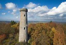 Home is where your heart is! / Hainigturm Lauterbach Vogelsberg Hessen  Unsere Flugdrohne zeigt den Hainigturm in einer bisher unbekannten Perspektive!