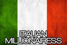 ITALIAN MILLIONAIRESS / THE LIFESTYLE AND FAVORITE THINGS OF THE MILLIONAIRESS IN ITALY~ Stile di vita e FAVORITE cose del Millionairess IN ITALIA