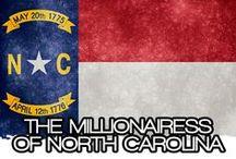 THE MILLIONAIRESS OF NORTH CAROLINA / THE LIFESTYLE & FAVORITE THINGS OF THE MILLIONAIRESSES OF NORTH CAROLINA~