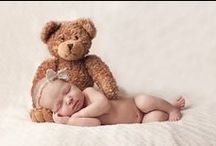 Newborn and Baby Photography / Lots of ideas for all those treasured first moments