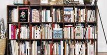 INTERIOR: BOOK STORAGE IDEAS
