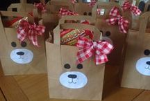 Teddy Bear Picnic and We are going on a bear hunt Party / Perfect for kids parties out in the wilderness with our friendly little bear cubs!