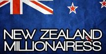 NEW ZEALAND MILLIONAIRESS / THE LIFESTYLE AND FAVORITE THINGS OF THE NEW ZEALANDER MILLIONAIRESS.