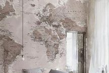"Decoration ""World Map"""
