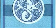 Card Ideas Animals Rubber Stamps / Cards & art ideas using Animals rubber stamps from Highlander Celtic Stamps