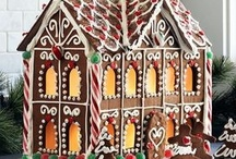 Gingerbread Homes / by Kelly Steele