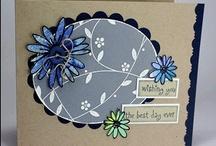 Karten floral