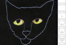 B is for Black Cat! / by Patty Long