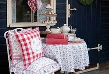 Garden Party / Be inspired to throw a fabulous summer garden party for friends and family with these great ideas.