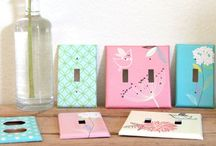 Crafty Projects / Simple projects for around the home or to give as fun gifts!