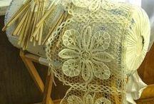 Bobbin Lace / Old technique using which it is possible to create beautiful works. #paličkování #krajka