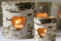 Candle & Tealight Holders / A selection of our beautiful candle and tealight holders. Perfect for the home, weddings or a gift!