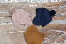 Warm knit for cool kids / Warm knit for cool kids