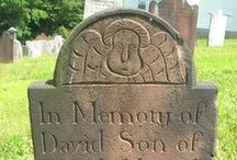 18th Century Gravestones / Mostly NJ