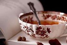 Cups / Made of porcelain, glass, metal or ceramics - always has its charm. #tea #coffee