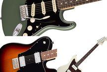 gitarer / ønskegitarer, både innenfor og utenfor rekkevidde..